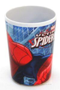 Bicchiere melamina Spiderman