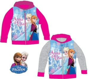 Felpa con cappuccio Disney Frozen Anna & Elsa