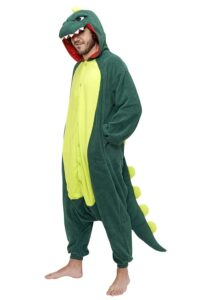 Pigiamone Kigurumi adulto Dinosauro- Taglia Unica