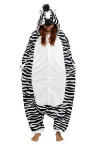 Pigiamone Kigurumi adulto Zebra - Taglia Regular