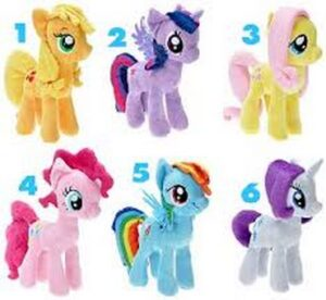 Peluche My Little Pony 17cm