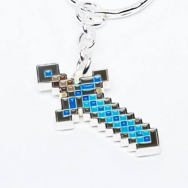 Portachiavi spada di diamanti Minecraft