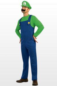 Costume adulto Luigi Super Mario