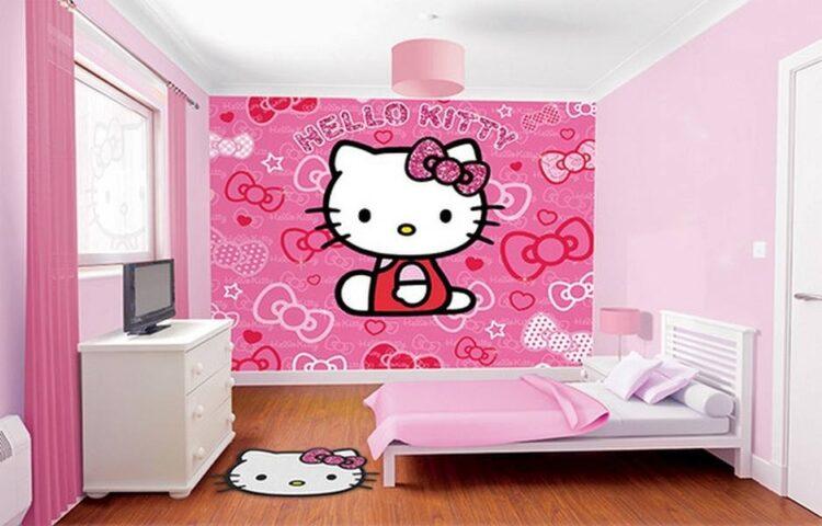 Murales Hello Kitty Walltastic