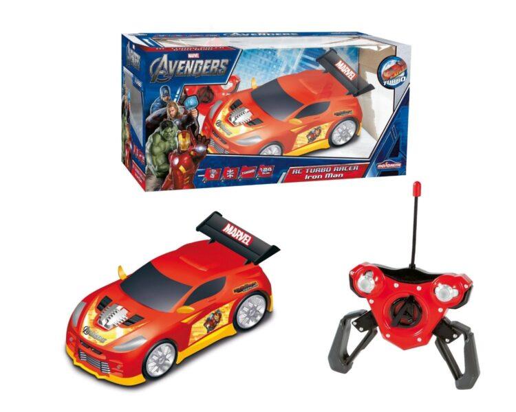 Auto Radiocomandata Iron Man 1:24, Funzione Turbo