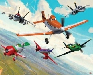 Murales Disney Planes Walltastic
