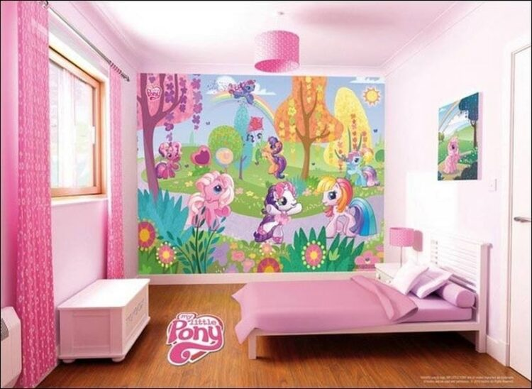 Murales My Little Pony Walltastic