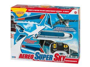 Aereo Super Sky Radiocomandato a 6 Funzioni