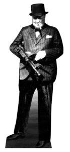 Winston Churchill sagoma 182 cm H