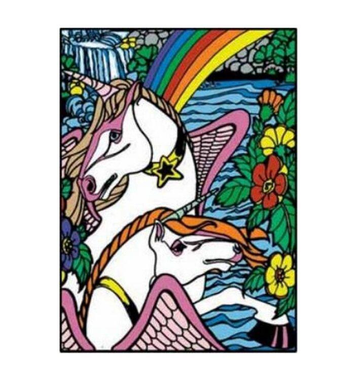 Tavola Colorvelvet Unicorni Large