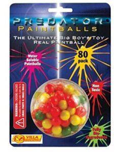 Proiettili Paintballs 80 Pezzi