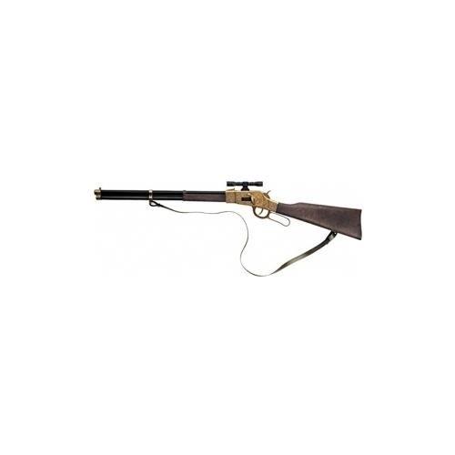 Fucile Giocattolo in Metallo a 12 Colpi 125 dB, Winchester Gold