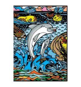Tavola Colorvelvet Delfini Large
