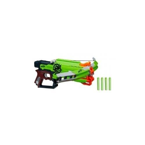 Nerf Zombie Crossfire Bow, Plastic
