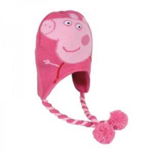 Cappello peruviano Peppa Pig rosa