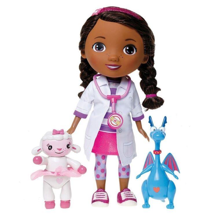 Bambola Interattiva Dottoressa Peluche