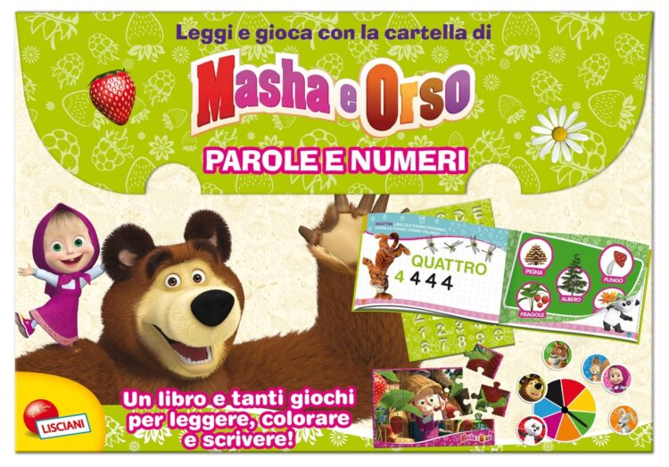 Masha e Orso Parole e numeri