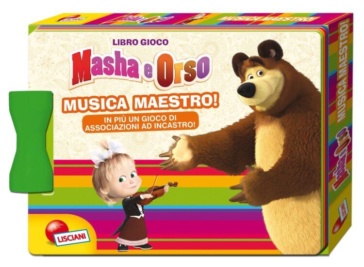 Masha e Orso Musica maestro