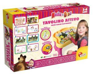 Clementoni Tavolino attivo Masha e Orso