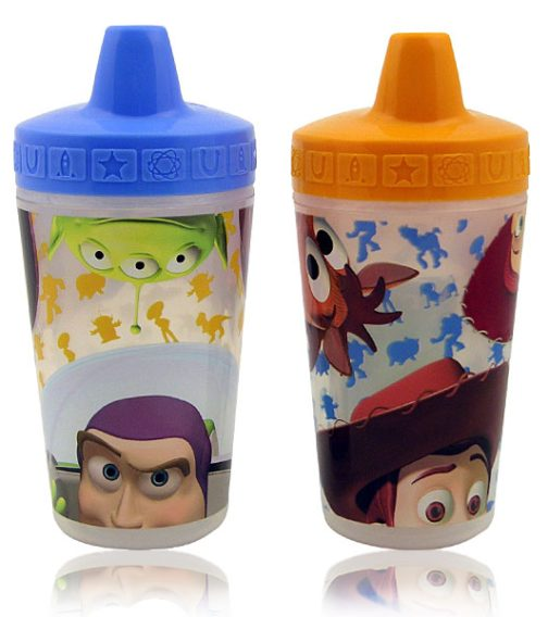 Set 2 bicchieri con beccuccio Toy Story