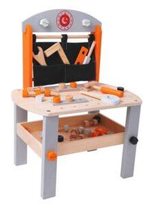 Tavolo da lavoro in legno Leomark