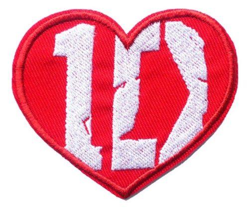 Toppa ricamata One Direction
