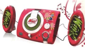 Winx Cd Radio Player Portatile Boombox