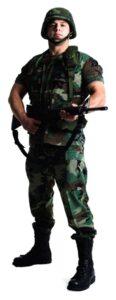 US Soldier sagoma 183 cm H