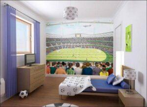 Murales Pazzi per il Calcio Walltastic