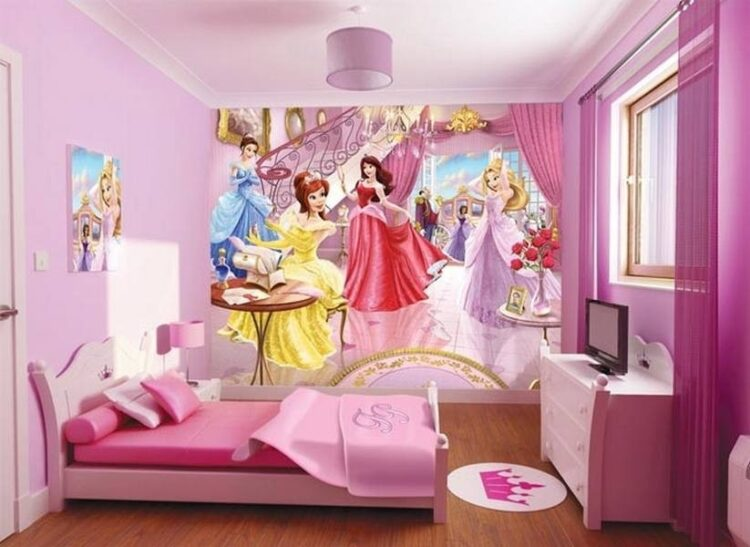 Murales Fairy Princess Walltastic