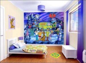 Murales Scooby Doo Walltastic