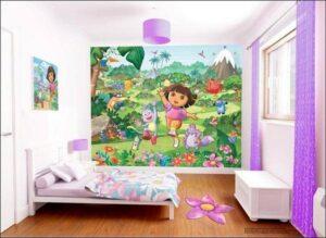 Murales Dora L'Esploratrice Walltastic