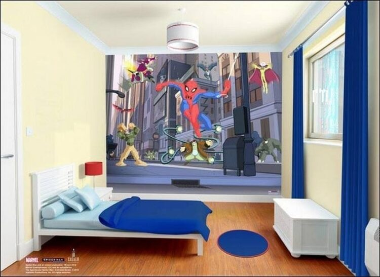 Murales Spectacular Spiderman Walltastic