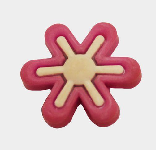 Pin per Crocs o braccialetti Purple Flower