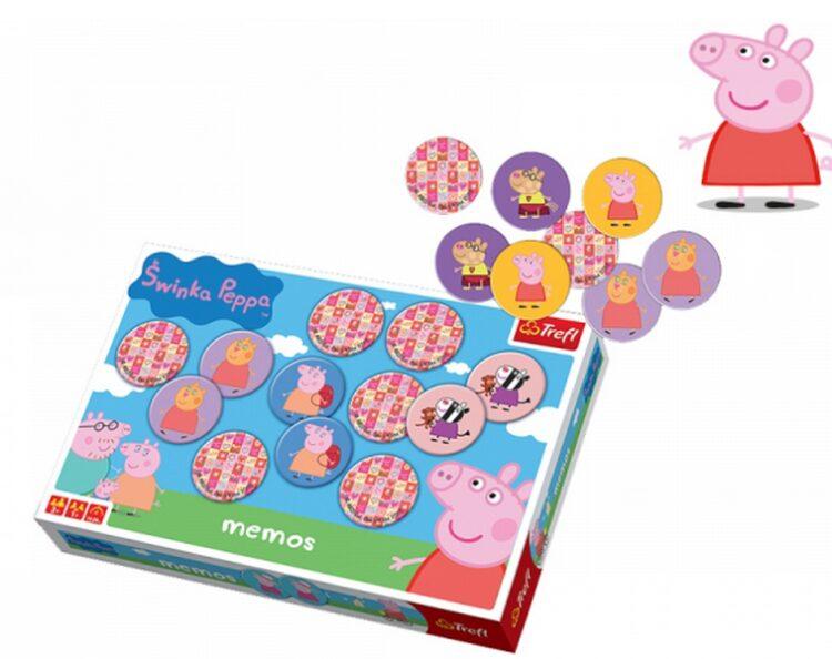 Gioco memory Peppa pig