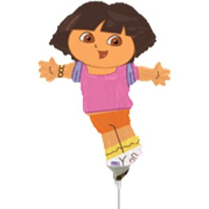Palloncini in mylar sagomati Dora l'Esploratrice
