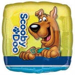 Palloncino quadrato ad elio Scooby Doo