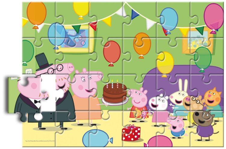 Puzzle da Pavimento Peppa Pig