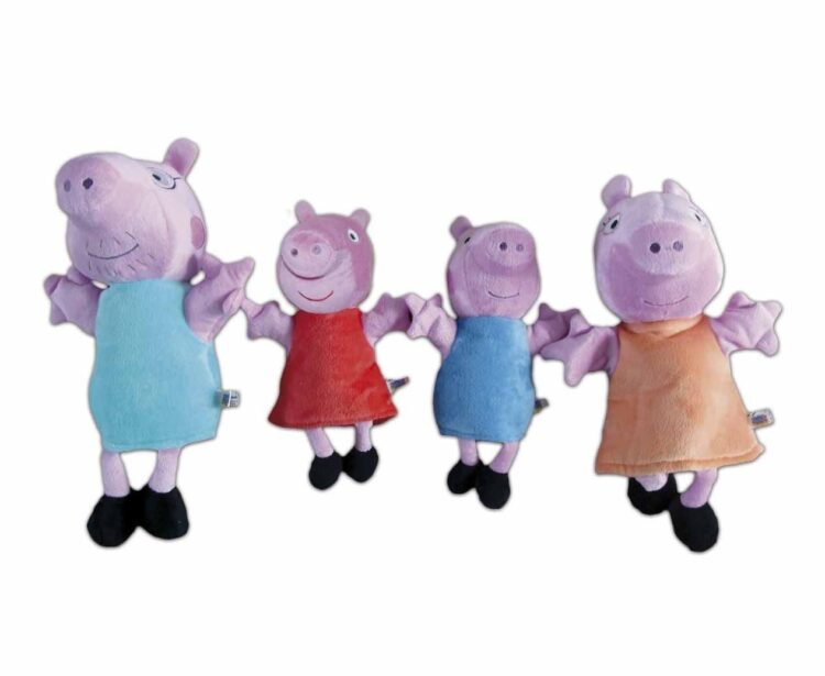Peppa Pig Set 4 marionette