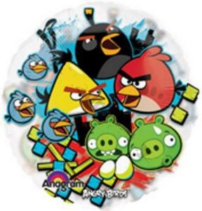 Palloncino in mylar Angry Birds
