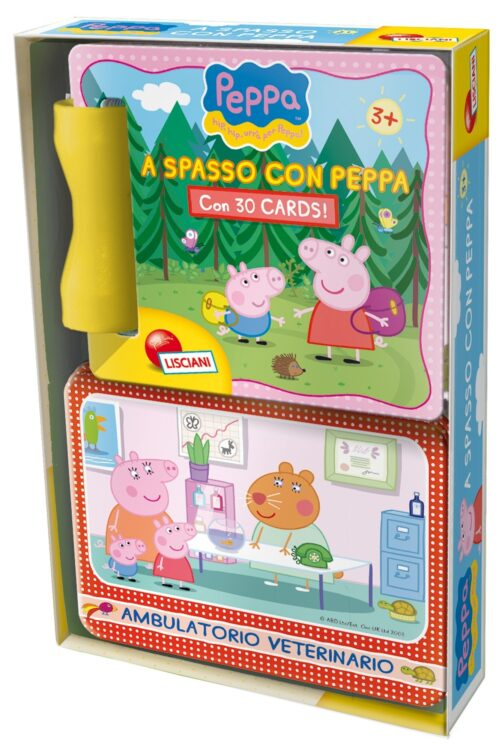A spasso con Peppa Pig