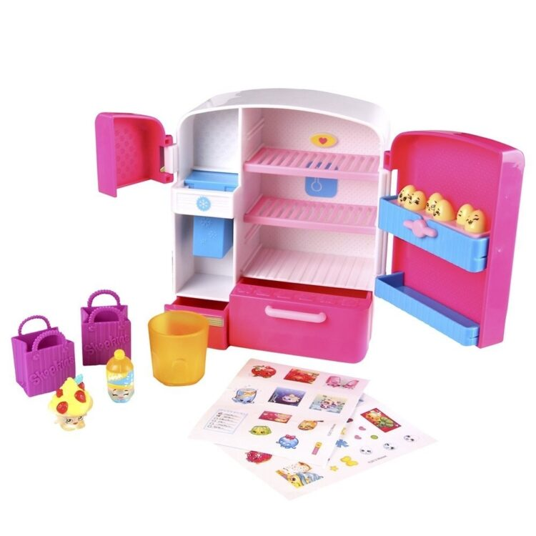 Shopkins Frigo con 2 mini Personaggi