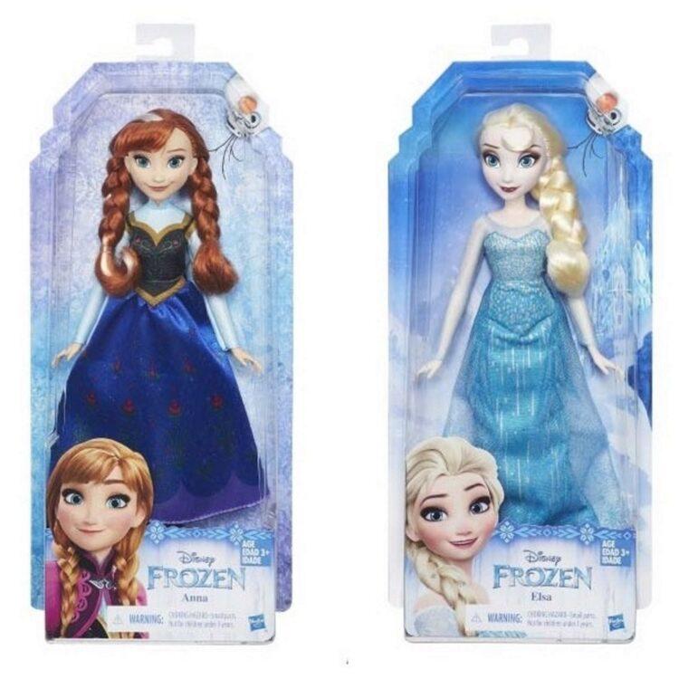 """Bambola Disney Frozen """"Classic"""" Elsa o Anna"""