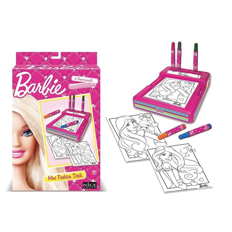 Barbie Disegno Mini Fashion Desk