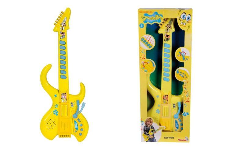 Spongebob Chitarra con Suoni e Ritmi