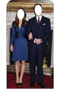 Will and Kate Stand-In sagoma cm H