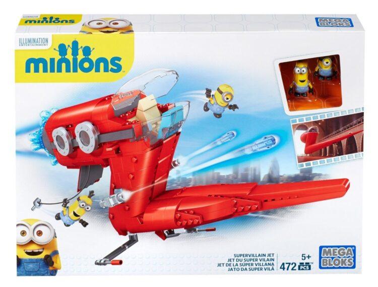Minions Supervillain Jet - Mega Bloks