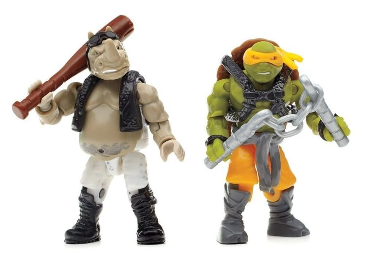Ninja Turtles Battaglia Nella Giungla