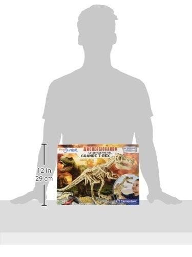 Lo Scheletro del Grande T-rex Archeogiocando
