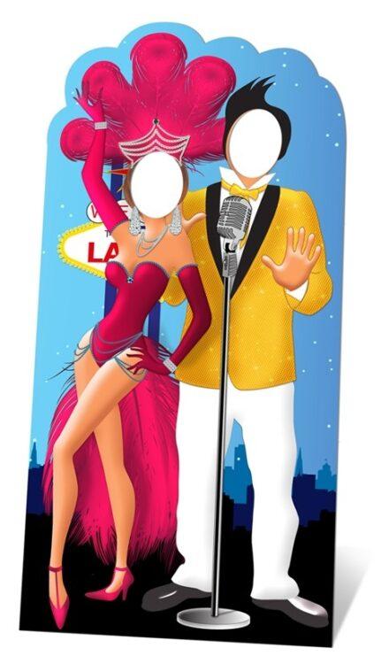 Vegas Couple Stand-In sagoma 195 X 95 cm